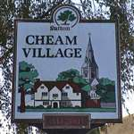Cheam Village sign
