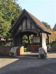 Lychgate to St. Dunstan's church